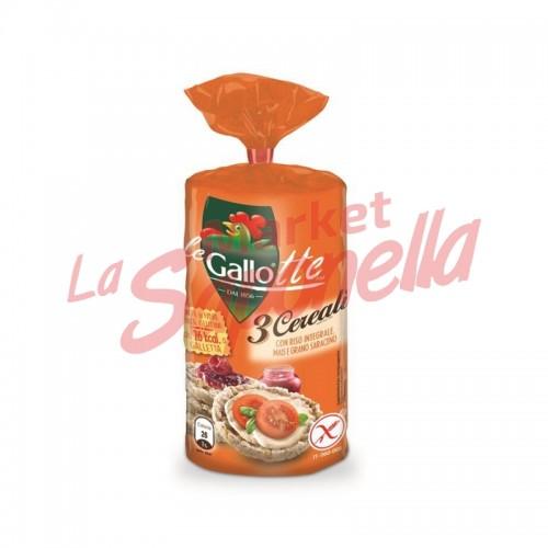 GALLO- biscuiti  gallotte 3 cereale-100g